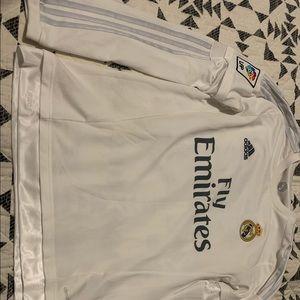 RARE James Rodriguez Real Madrid Jersey LS